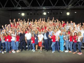 Более 100 работников и студентов-железнодорожников стали участниками Слета молодежи «ЛокоТех»