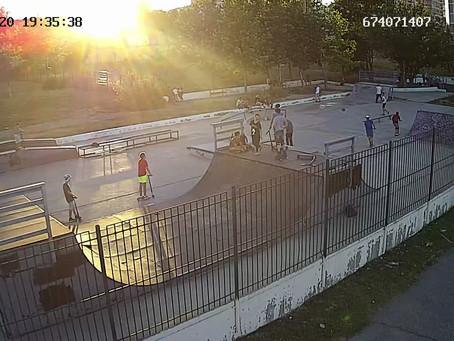 Онлайн трансляция спортивных площадок Новороссийска
