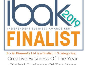 Social Fireworks In The Running For 'Digital Business Of The Year 2019'