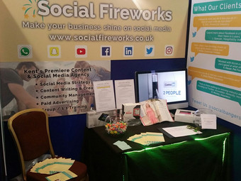 Social Fireworks Makes History at Annual Kent B2B Event