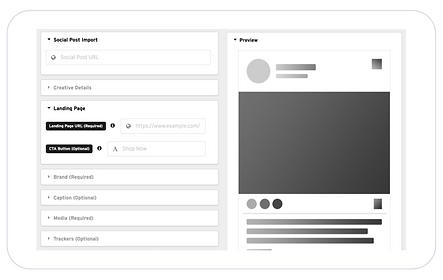 Image of Social Display with Nova user interface
