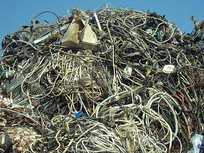 Σωρός από ανακυκλώσιμα υλικά