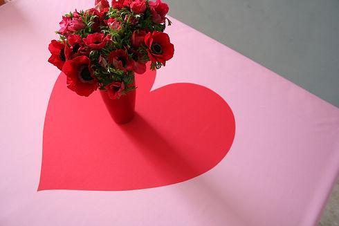 TAMUK-valentines heart table.jpg
