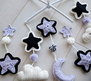 How to Make a Custom Crib Mobile - With Crochet or Any Other