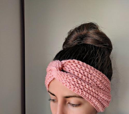 Turban Twist Headband Boho Crochet Pattern