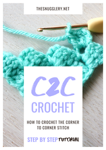 How to Crochet the Corner to Corner Stitch (C2C)