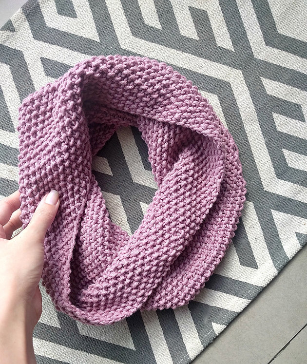 Beginner Seed Stitch Cowl The Snugglery Knitting And Crocheting Blog