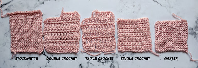 Does Crochet Use More Yarn Than Knitting The Snugglery Knitting