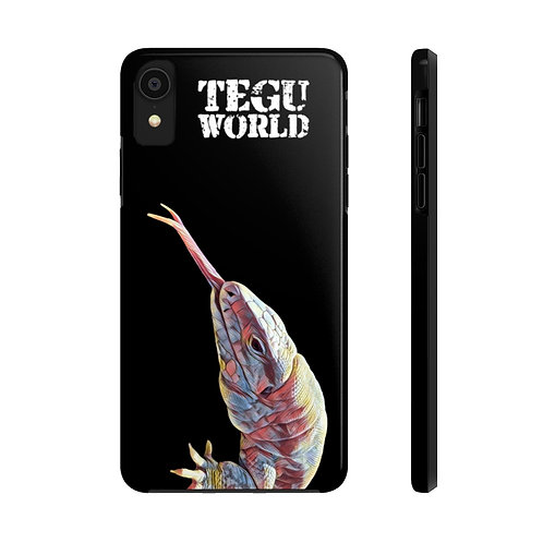 Polar Purple Tegu Lizard Phone Cases. Tegu, Purple Tegu, Lizard, Tegu World
