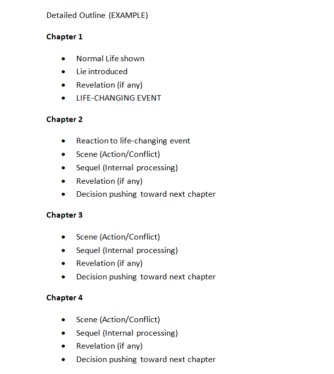 Detailed Outline EXAMPLE - Part 1