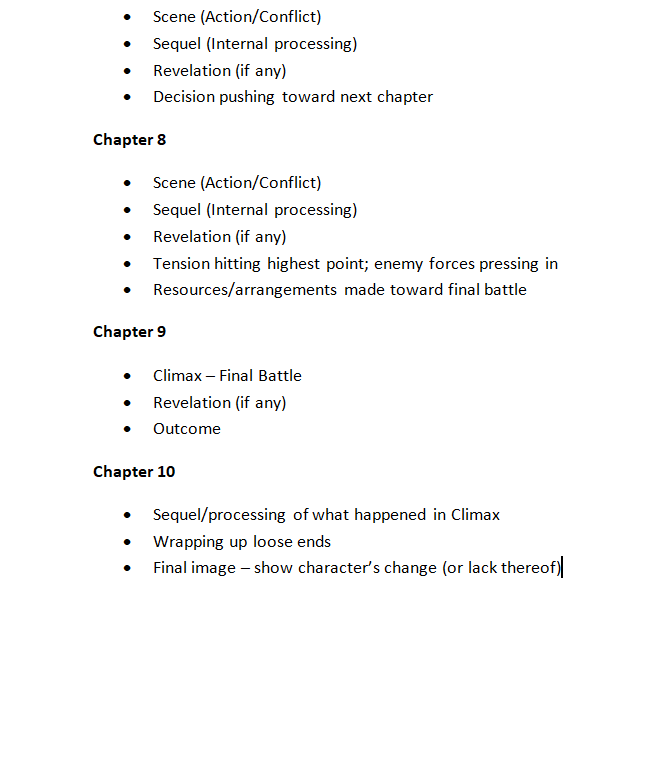 Detailed Outline EXAMPLE - Part 3