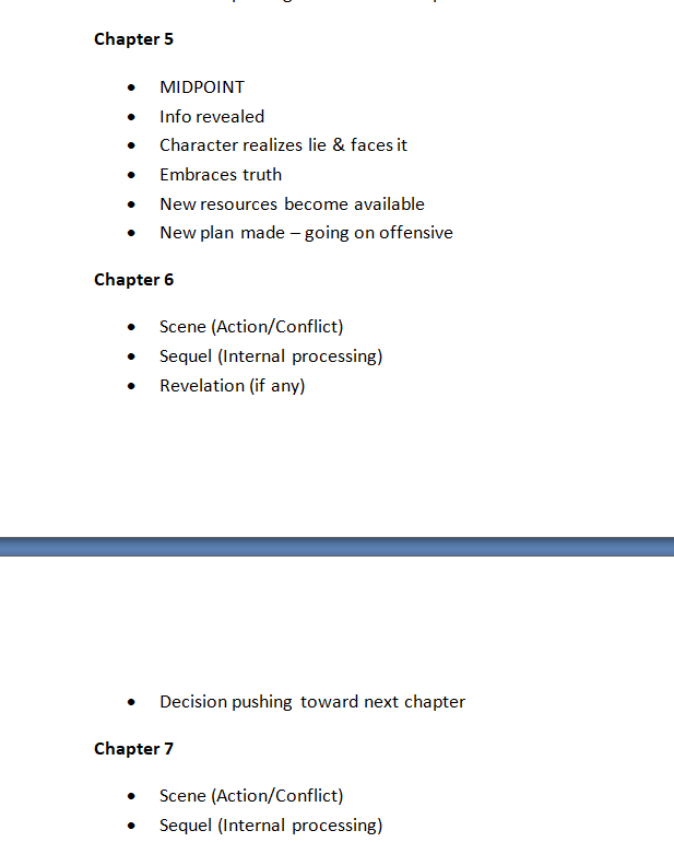 Detailed Outline EXAMPLE - Part 2