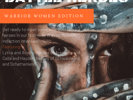 Swoonworthy Battle Heroes introduces: Warrior Women!