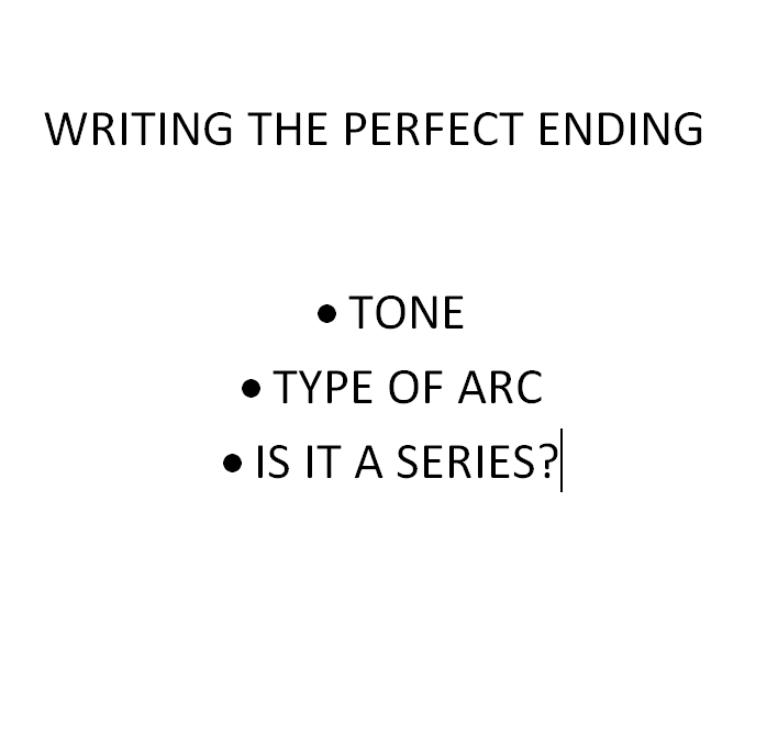 Perfect Ending - 3 questions