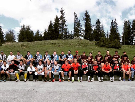 Hosting First Flag Football Tournament at the 1984 Winter Olympics Site