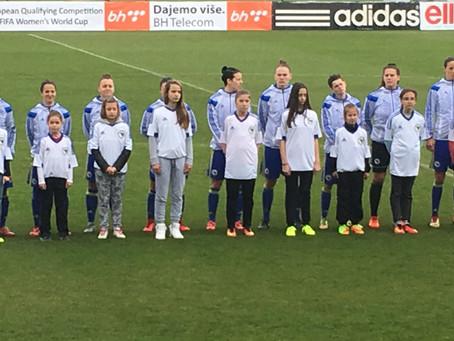 Women's soccer is growing in Bosnia and Herzegovina
