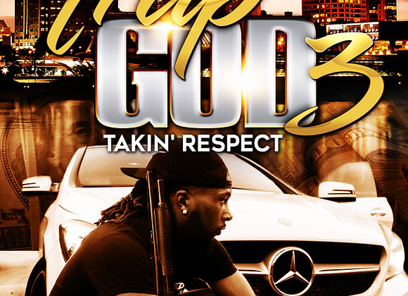 """Trap God 3 by Martell """"Troublesome"""" Bolden"""