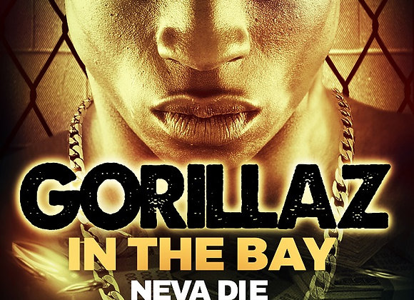 Gorillaz in The Bay by De'Kari