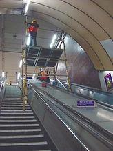 Plattform Gerüst Treppe