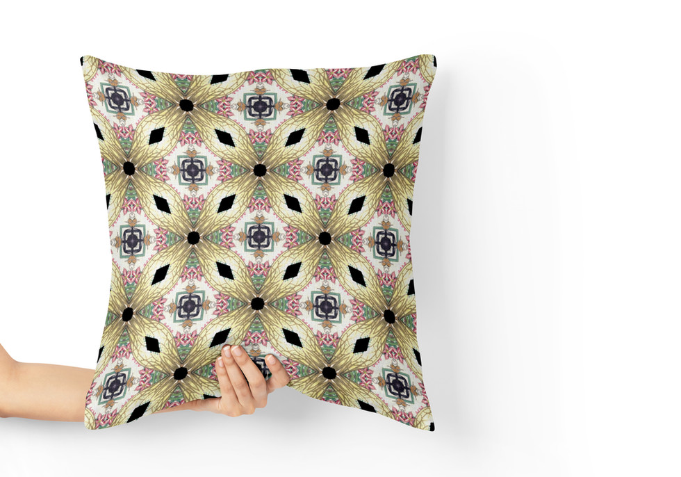 Pillow with pattern texture