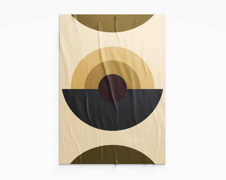 Poster from Shapes Collection