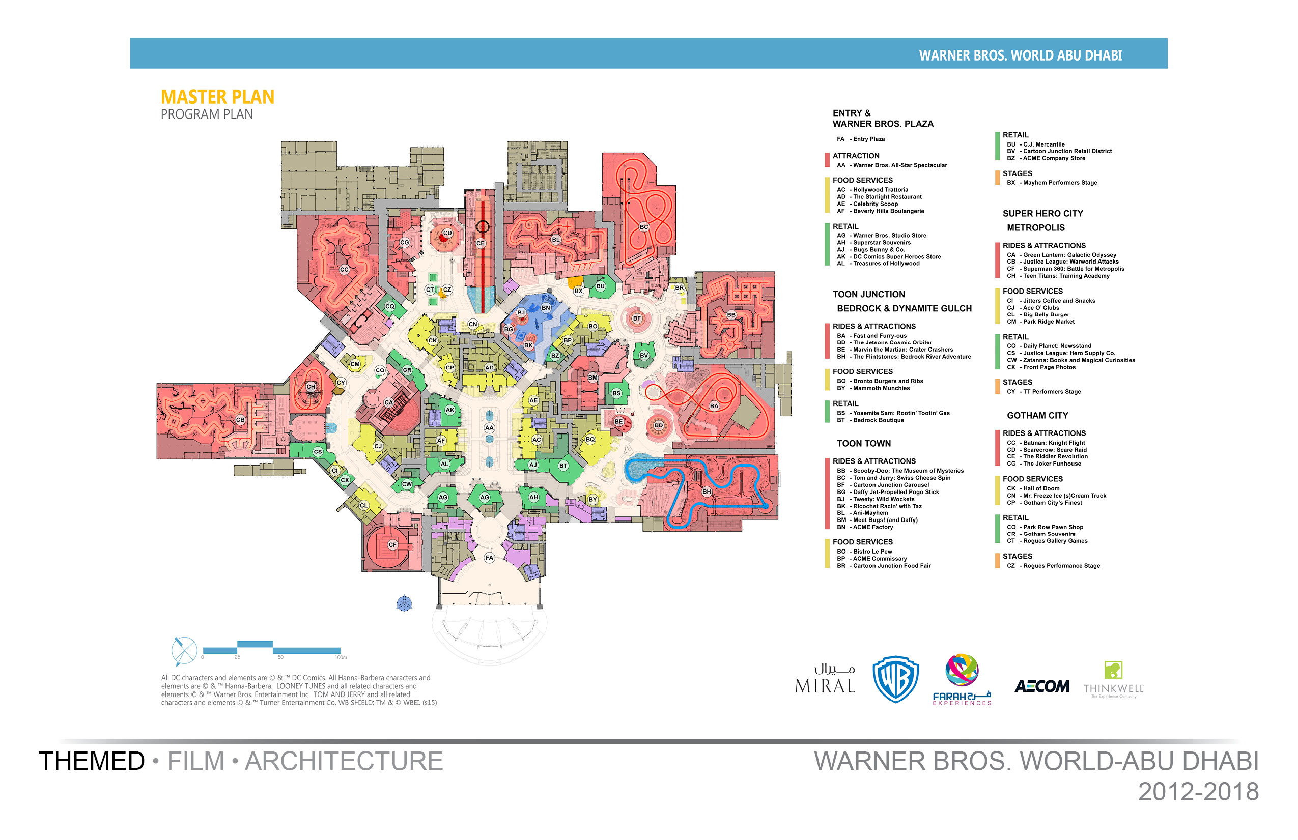 Warner Bros World-Master Plan