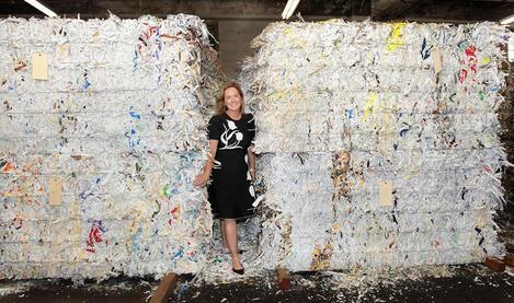 Professional document shredding service company
