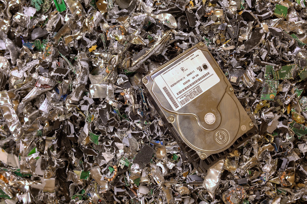 edata and ewaste recycling and shredding