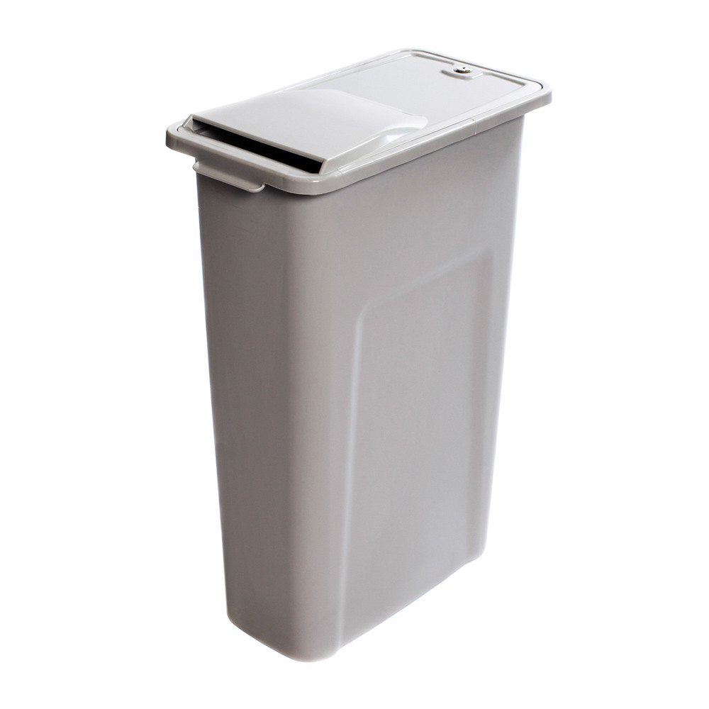 This is the perfect home shredding compact locking shred container