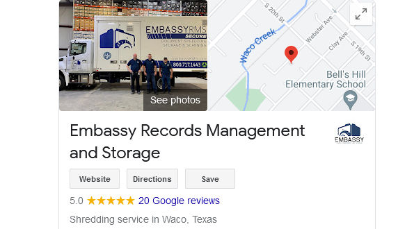 Our Google reviews are all 5 star reviews.
