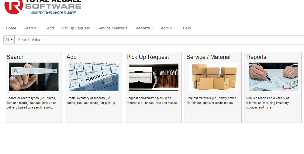 Retreive files.  Scan files.  Image files. Request banker boxes from Offsite storage.