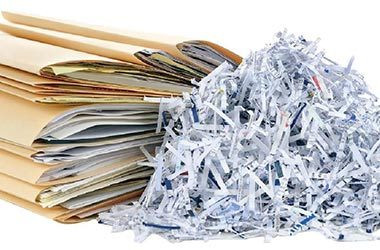 A personal shred service makes shredding papers simple.  Call Embassy RMS today for service near Waco or College STation or Austin or Houston.