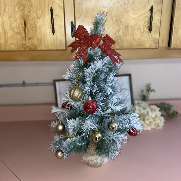 MINI CHRISTMAS TREES (6)