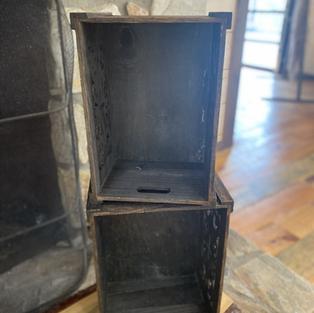 BROWN DECOR BOXES