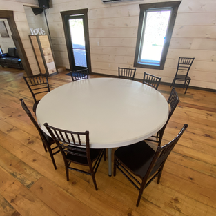 30 6' ROUND TABLES