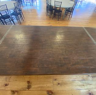 FARMHOUSE TABLE 46X108.5