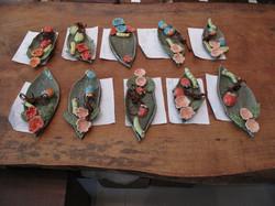 Children's pottery work from children's class