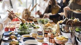 Menu de Noël, en buffet à options