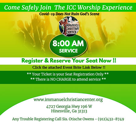 ICC Worship-Covid - JUN 21- ONLY 8AM - M
