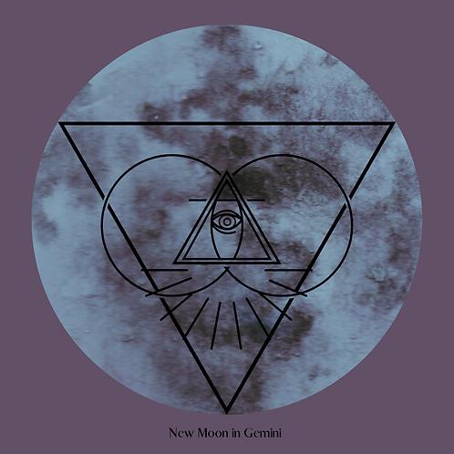 FREE New Moon in Gemini Journal Prompt & Prayer