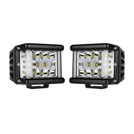 80w Side Shooter LED Pods