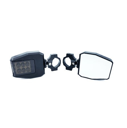 "UTV LED Mirrors (1.5"" to 2"" Mount)"