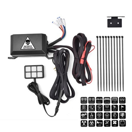UTV, Truck, Jeep, Offroad Accessory Power Controller