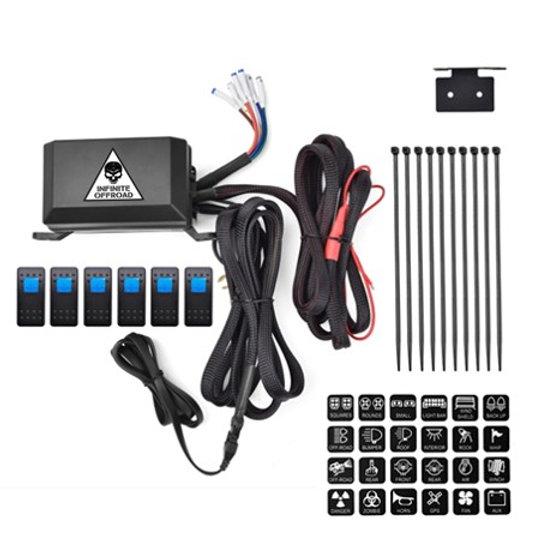 Accessory Power Control Module (Rocker Switch x 6) on