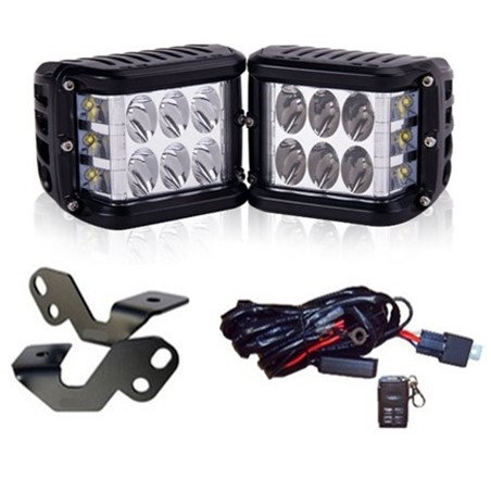 "(RZR, Ranger, General) - 3"" 80w Side Shooter High Output Kit"