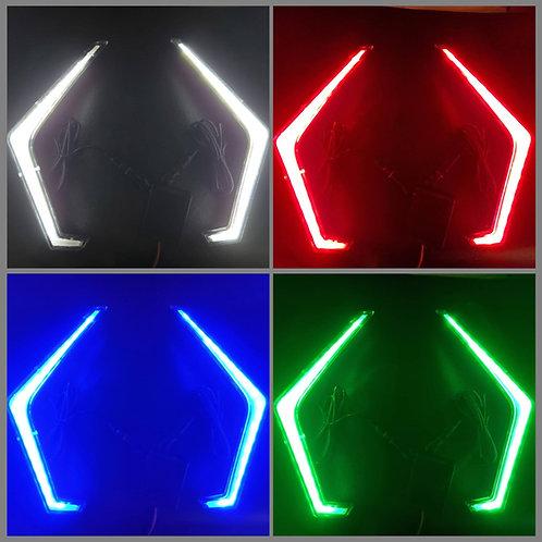 Polaris RZR Color Change RGBW Fang LED Light
