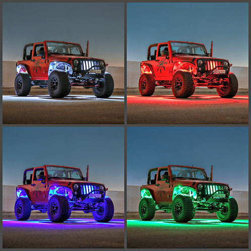 Infinite Offroad RGBW Truck / Jeep Rock Light Kit
