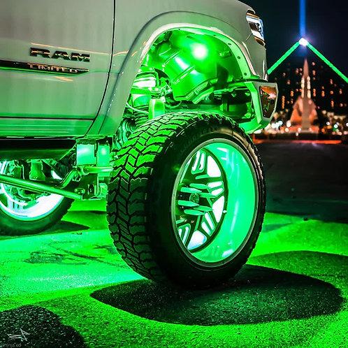 (RGB+W) LED Wheel Rings Set