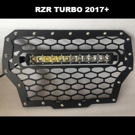Polaris RZR Turbo LED Grill