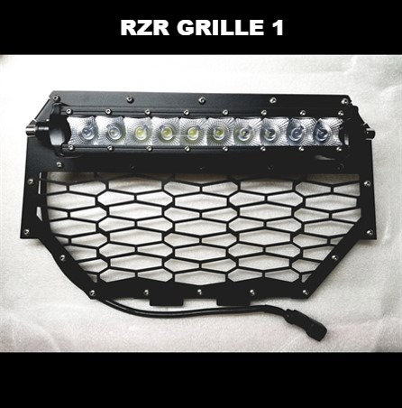 Polaris RZR LED Grill